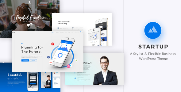 StartUp - Responsive Multi-Purpose WordPress Theme