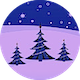 Christmas Light Rock Ident