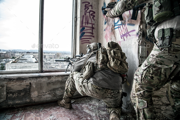 rangers in action - Stock Photo - Images