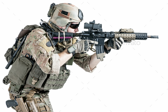 US army ranger - Stock Photo - Images