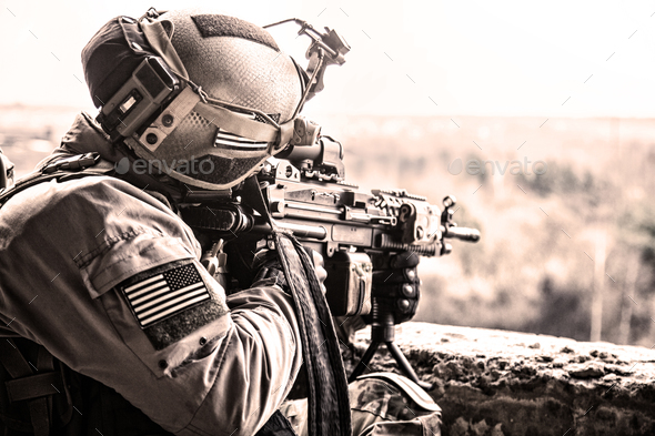 United States Army ranger - Stock Photo - Images
