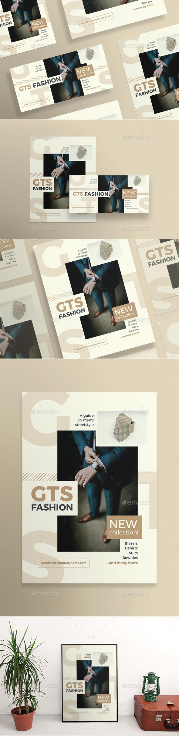 Men's Fashion Flyers - Flyers Print Templates