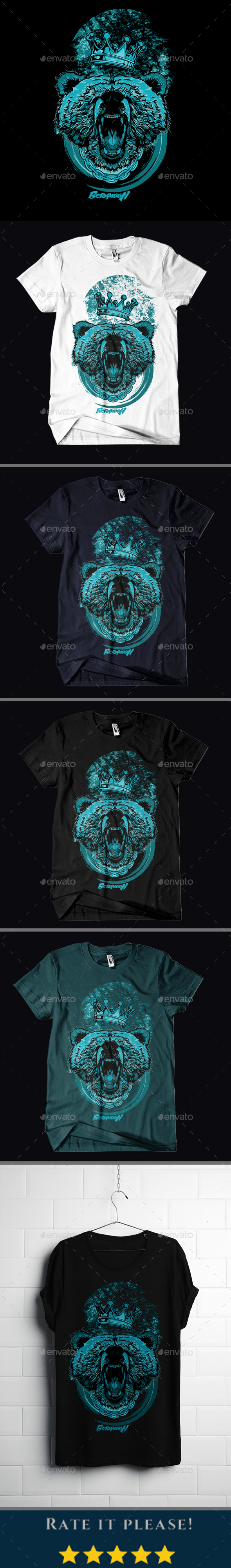 GraphicRiver Berumoon T-shirt Design 20935124