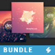 Deep Sound Collection 2 - CD Cover Artwork Templates Bundle