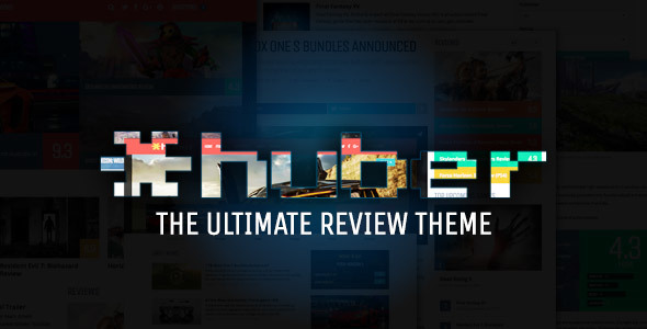 Huber: Multi-Purpose Review Theme - Blog / Magazine WordPress