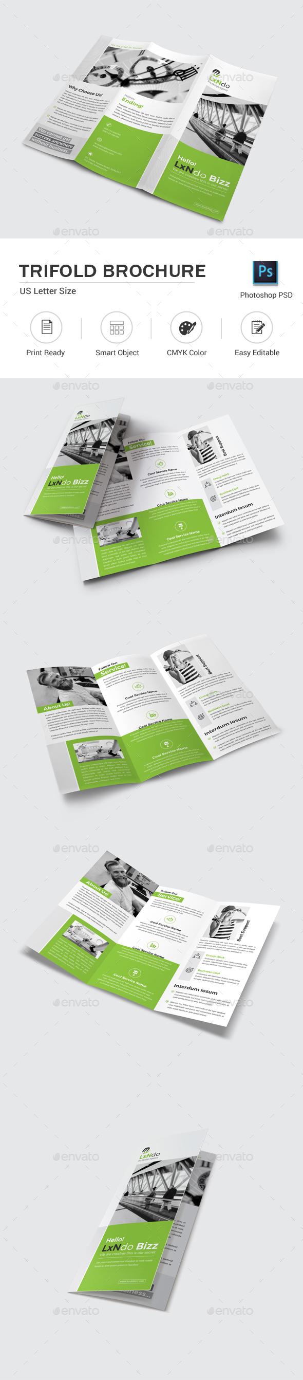 GraphicRiver Trifold Brochure 20935454