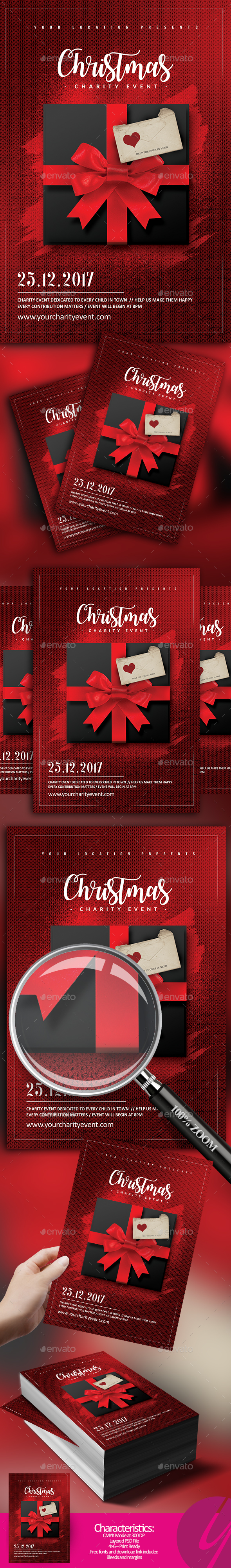 GraphicRiver Christmas Charity Event 20935609