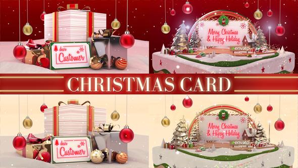 Videohive - Christmas Card 20935617