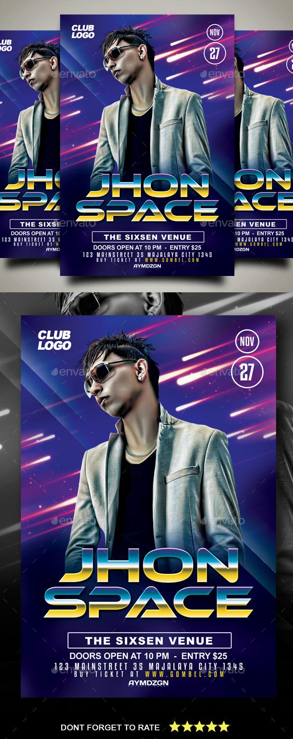 GraphicRiver DJ Flyer 20935782