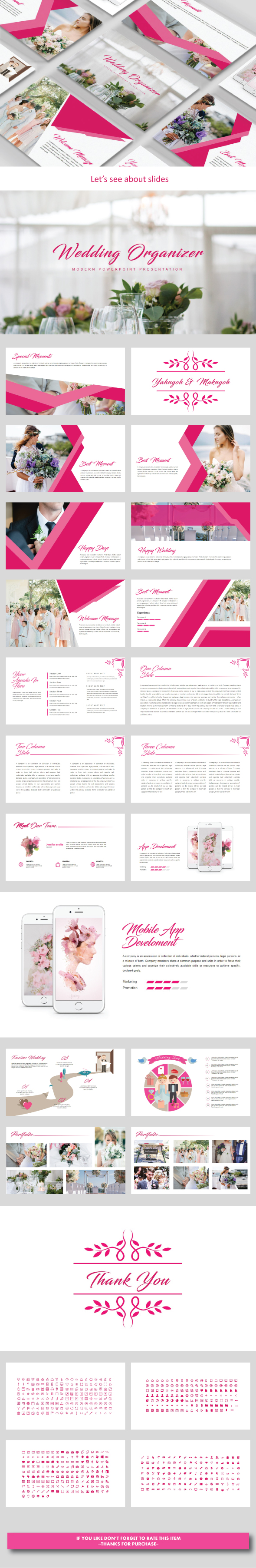 GraphicRiver Wedding Organizer Keynote Templates 20936135