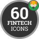 Fintech Financial Technology Icons - VideoHive Item for Sale