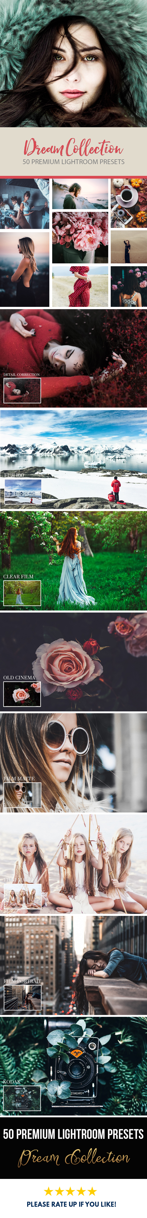 GraphicRiver 50 Dream Lightroom Presets 20936380