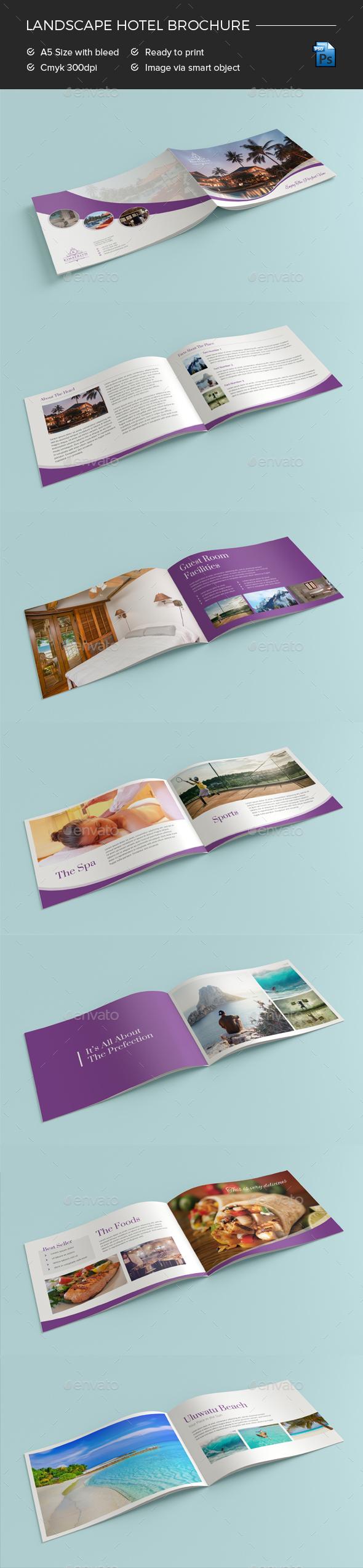 GraphicRiver Hotel Brochure 20936506