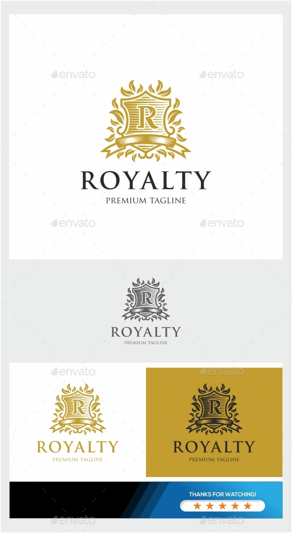 GraphicRiver Royalty Logo Template 20925769