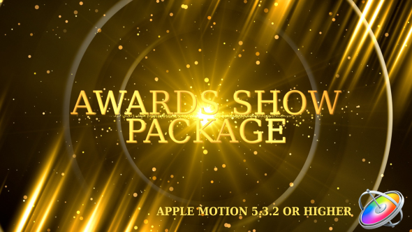VideoHive Awards Show Promo Pack Apple Motion 20936657