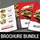Restaurant Menu Brochure Bundle
