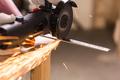 Angel grinder make a flash sparks - PhotoDune Item for Sale