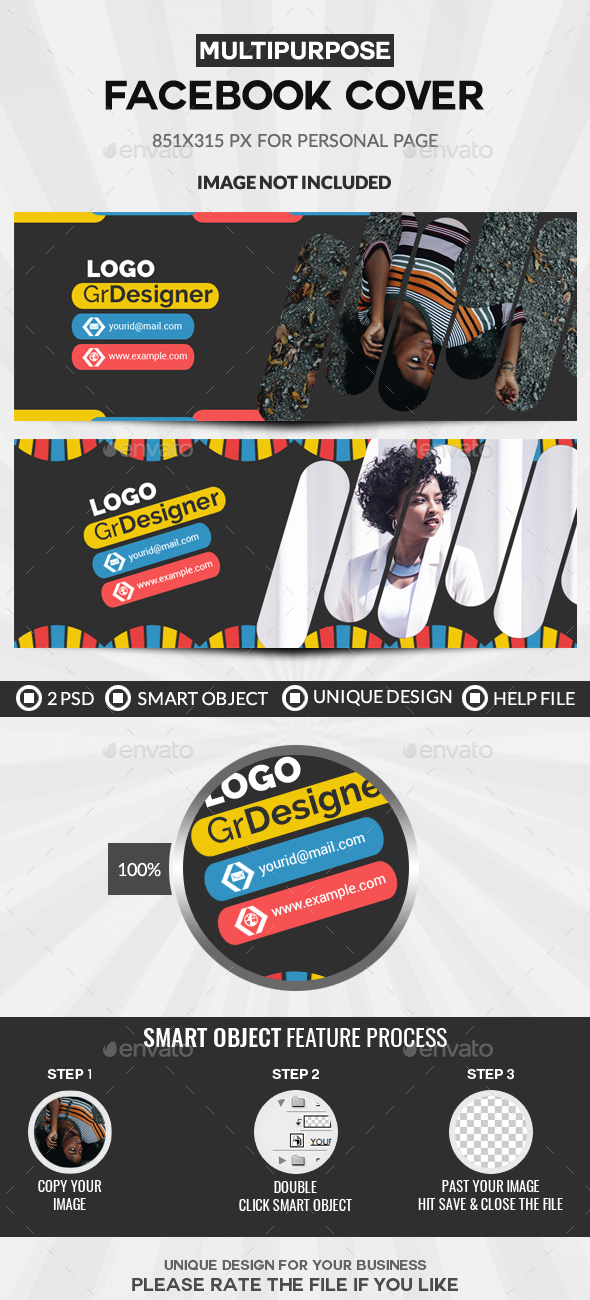 GraphicRiver Facebook Cover 20937045