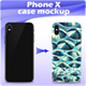 Phone X Case Mockup - GraphicRiver Item for Sale