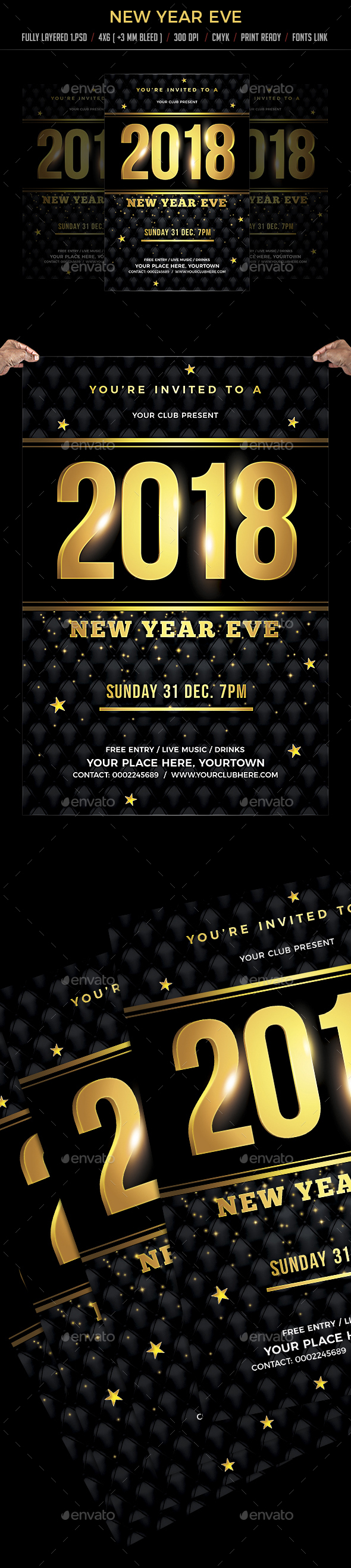 GraphicRiver New Year Eve 20937237