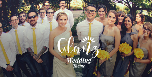 Image of Glanz - Wedding Theme