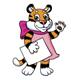 "Tiger kitten saying ""Hi!"" - GraphicRiver Item for Sale"