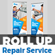 Air Conditioner Repair Services Roll-Up