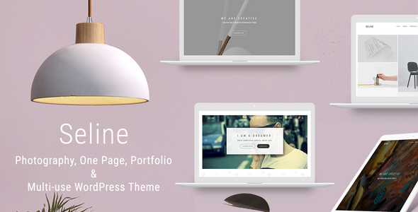 Seline - Creative Photography & Portfolio WordPress Theme