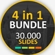 4 in 1 Thousand Slides Bundle Powerpoint - GraphicRiver Item for Sale