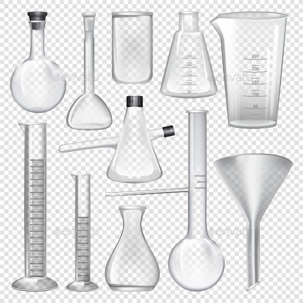GraphicRiver Laboratory Glassware Instruments 20937811