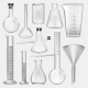 Laboratory Glassware Instruments - GraphicRiver Item for Sale