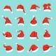 Hats of Santa