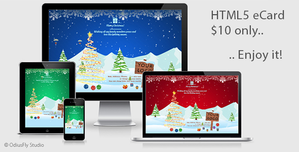 Christmas Card Wishes v1 - CodeCanyon Item for Sale