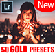 50 Gold Lightroom & Camera Raw Presets