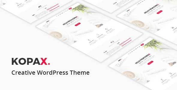 Kopax - Creative Responsive WP Theme - Creative WordPress