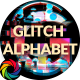 Modern Glitch Alphabet - VideoHive Item for Sale