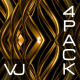 Golden Stroke Pattern VJ Pack - VideoHive Item for Sale
