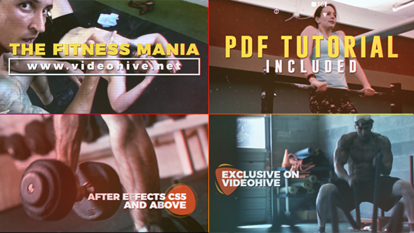 VideoHive Fitness Mania 20938623
