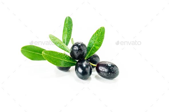 Organic  olives - Stock Photo - Images