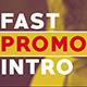 Fast Promo Intro - VideoHive Item for Sale