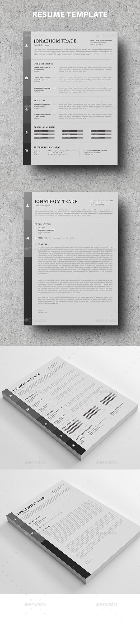 GraphicRiver Resume 20924058