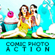 Comic Photoshop Action - GraphicRiver Item for Sale