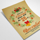 Wreath Christmas Flyer