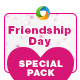 Friendship Day Special Pack - Flyer, FB Cover, Instagram Banner
