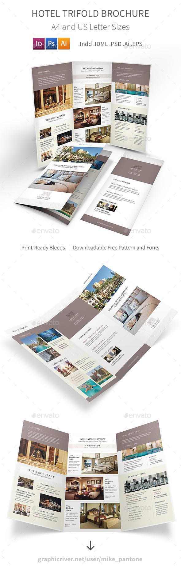 Hotel Trifold Brochure 7 - Informational Brochures