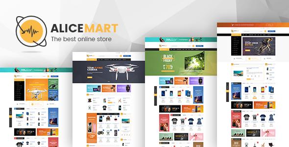 VG Alice - Multipurpose Responsive eCommerce Theme - WooCommerce eCommerce