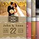 Wedding Invitation Card Bundle