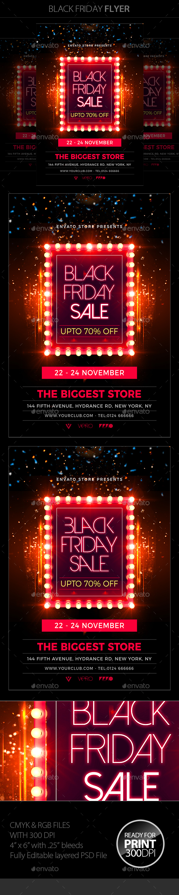 GraphicRiver Black Friday Flyer 20939589