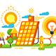 Solar Battery for Lighting and Energy Design