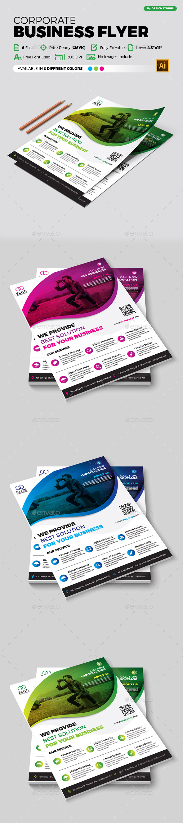 Flyer – Multipurpose 350 - Corporate Flyers